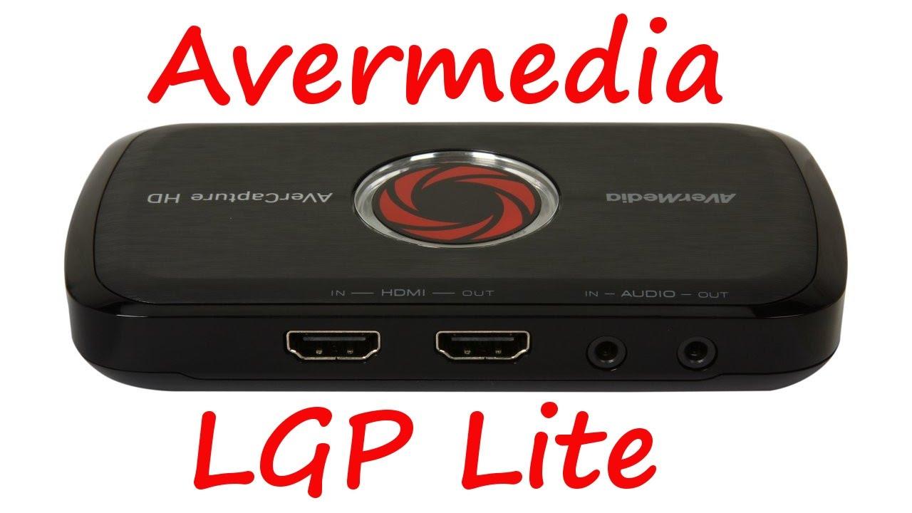 Avermedia LGP Lite - Game Capture Set Up For PS4