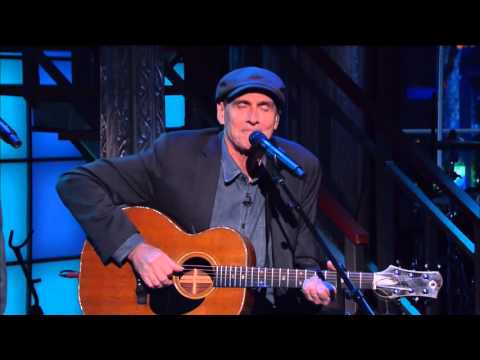 The Late Show With Stephen Colbert - James Taylor