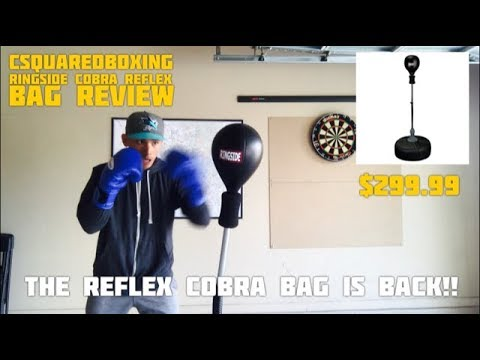 Ringside Cobra Reflex Bag REVIEW/ HOW TO USE THE COBRA BAG THAT ALL THE PRO'S USE LIKE RYAN GARCIA!