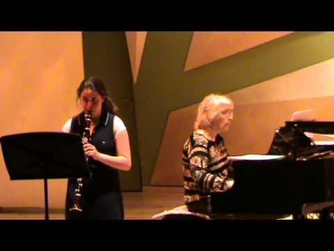 "Ambroise Thomas Polonaise from ""mignon"" for clarinet - Ilana Goldman"