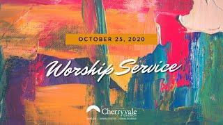 Oct 25, 2020 Worship Service, Cherryvale UMC, Staunton, VA