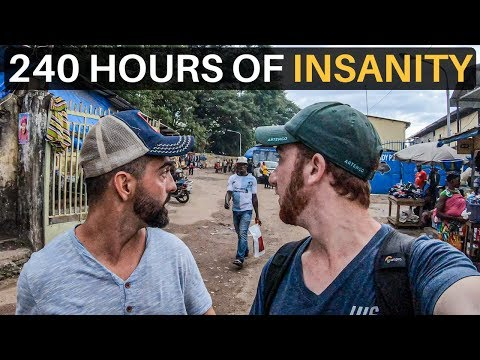 240 HOURS OF INSANITY! (West Africa Road Trip)
