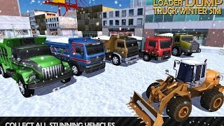 Loader & Dump Truck Winter SIM