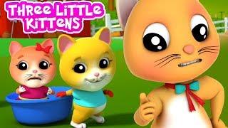 Три Маленьких Котята | Детские Рифмы | Котята Песня | Three Little Kittens Song | Farmees Russia