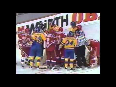Чемпионат Мира по хоккею 1993 / Финал / Россия - Швеция (3-1)