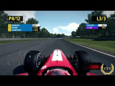 F1 2013 Eddie Irvine Brands Hatch