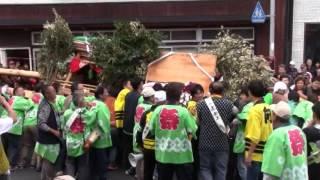 2016 間人けんか屋台祭り 岡成区x小泊区