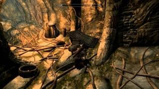 "Skyrim TES V - Quest ""The Golden Claw"" - Dragonstone Of Bleak Falls Temple Walkthrough (1080p)"