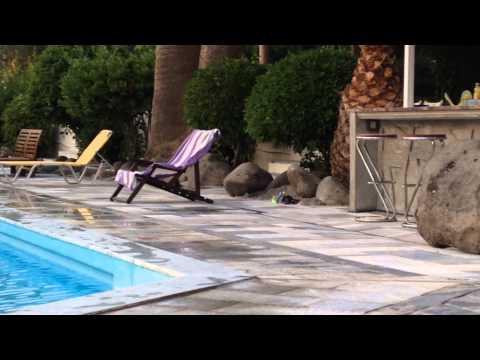 Theodora hotel zwembad Petra lesbos