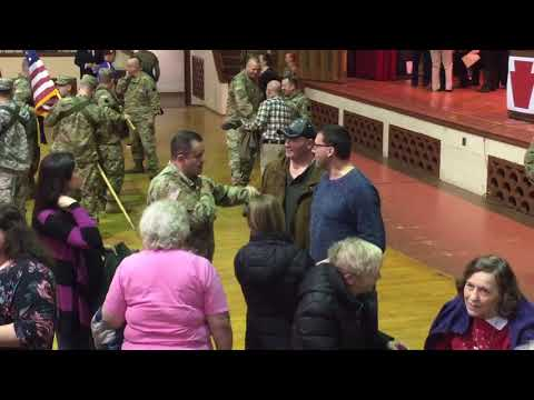 Scenes from deployment ceremony for Pa. National Guard