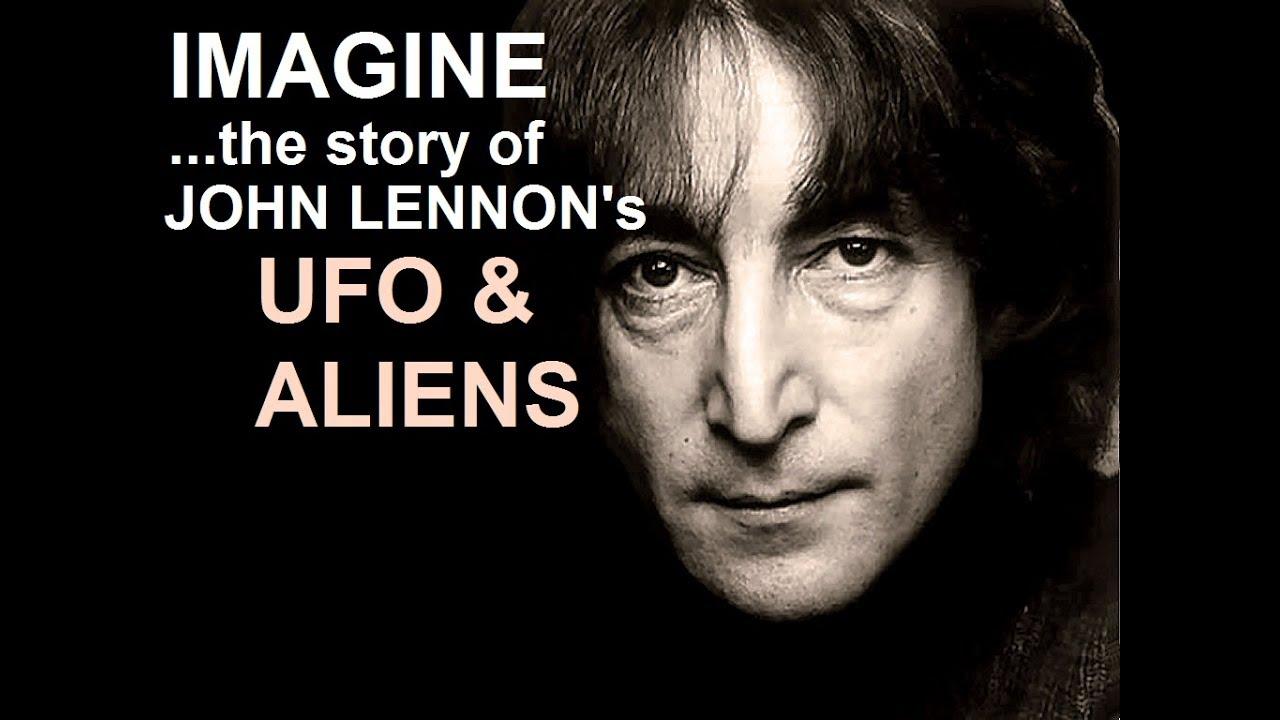 John Lennon témoin d'un OVNI