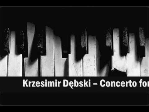 Krzesimir Dębski - Chechnyan concerto for piano (1991)  [1st movement - molto allegro]
