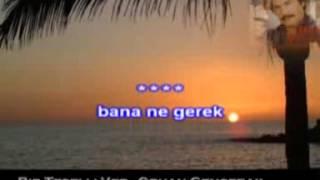 Bir Teselli Ver Orhan Gencebay karaoke
