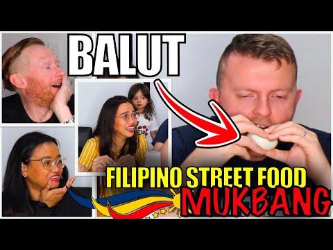 MUKBANG – FILIPINO STREET FOOD | AUSTRALIAN HUSBAND EATS BALUT 😂