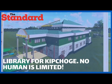 Construction works begin for Eliud Kipchoge library in Nandi