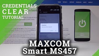 MAXCOM Smart MS457 Strong Clear Credentials