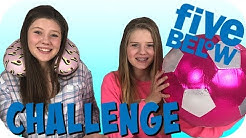 FIVE BELOW CHALLENGE || SHOPPING CHALLENGE || SHOPPING HAUL || Taylor and Vanessa