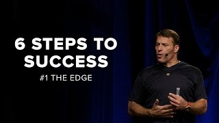 Tony Robbins: The Eḋge   6 Steps to Total Success