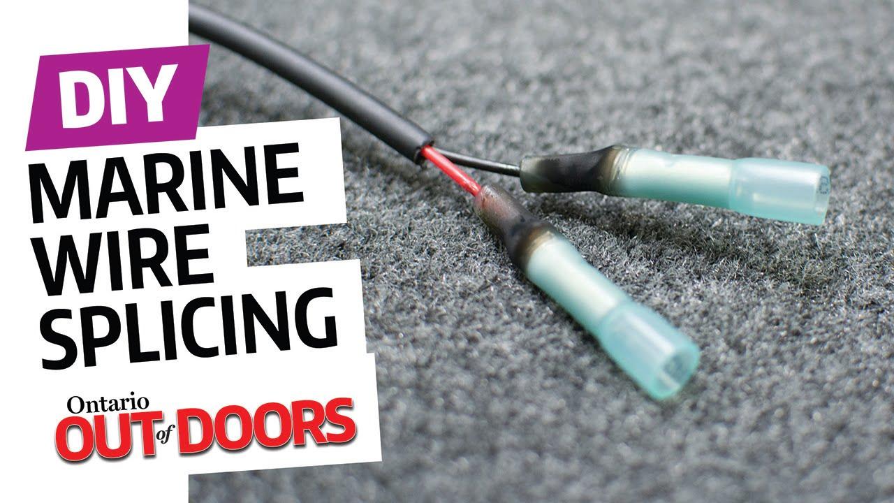 medium resolution of marine wire splicing steps youtube rh youtube com basic house wiring electrical wiring 101