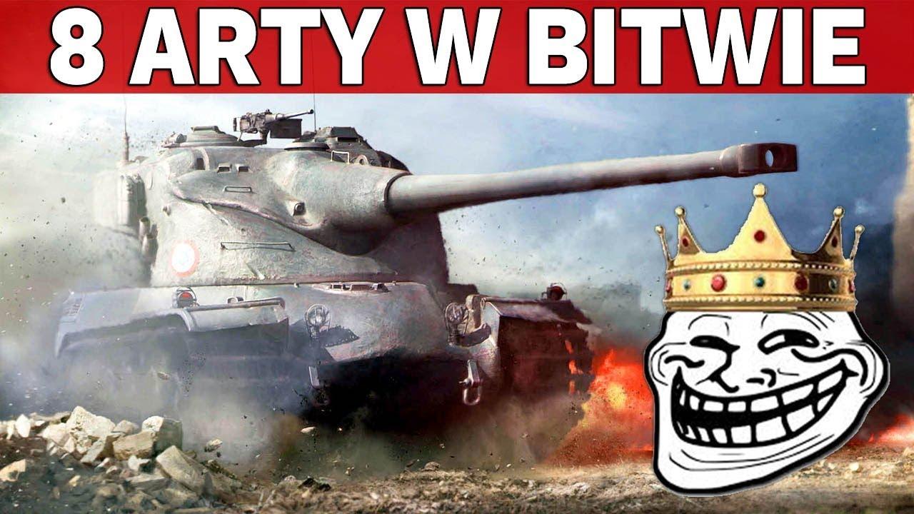 8 ARTYLERII W BITWIE – Wady Trybu 30 vs 30 – World of Tanks