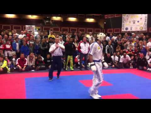 Zsolt Mórádi vs. Raymond Daniels - Irish Open 2012 Dublin