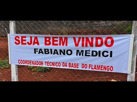 COORDENADOR TÉCNICO DA BASE DO FLAMENGO AVALIA JOGADORES EM ITAMBÉ PARANÁ