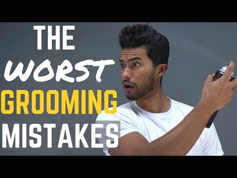 6 Grooming Mistakes Men Need to STOP