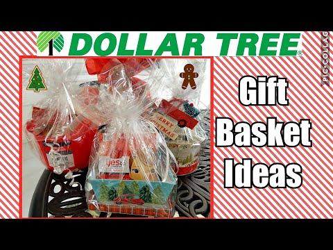 Dollar Tree Gift Baskets Ideas 2018