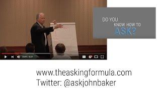 The Asking Formula Promotional Reel