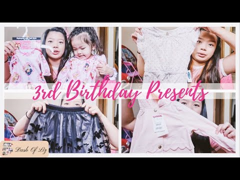 Girl Clothing Haul | Birthday Gifts | What My Toddler Got For Her Birthday! | We Heard Something!!!