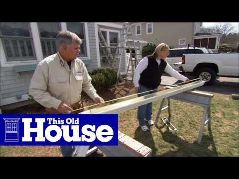 How To Install Aluminum Gutters This Old House Youtube