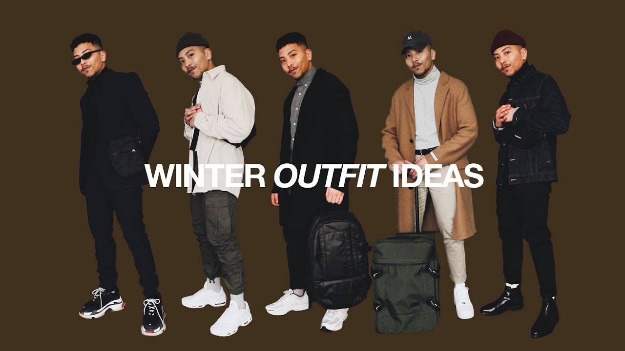5 WINTER OUTFIT IDEAS / WINTER LOOKBOOK 7