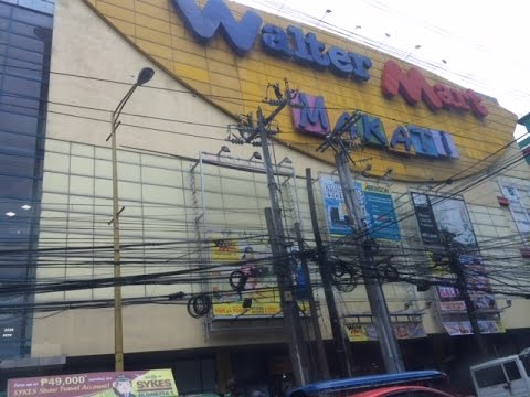 Walter Mart Makati Mall Overview Chino Roces Avenue by HourPhilippines.com
