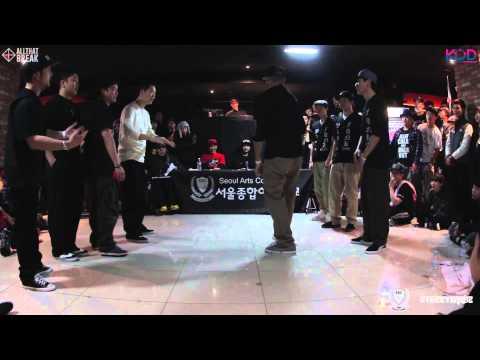 Winners Crew v Real Marvelous Funk / Poppin Prelims / KOD 2014 KOREA / Allthatbreak.com