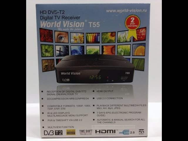 Видео обзор World Vision T55