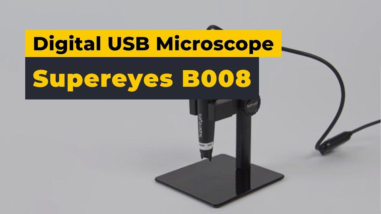 Supereyes B008 Digital Usb Microscope Video Review Youtube