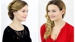 2 proste fryzury dla długich włosów | loveandgreatshoes