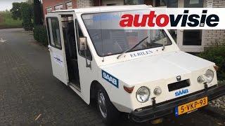 Autovisie Vlog: Eerste elektrische Saab gaat terug naar huis - by Autovisie  TV