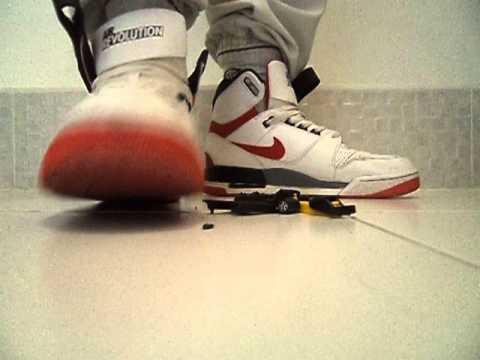 Crushed Nike Air Revolution