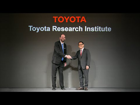 Toyota Press Conference on Artificial Intelligence