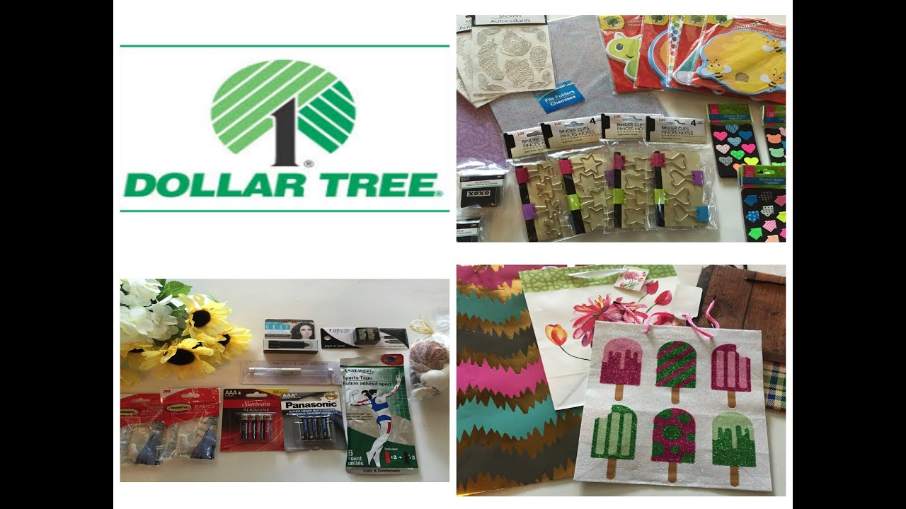 Dollar tree haul new store and new items youtube for Dollar store items online