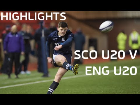 Highlights of Scotland U20's 24-6 win over their English counterparts