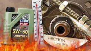 Liqui Moly Molygen 5W50 Jak skutecznie olej chroni silnik? 100°C