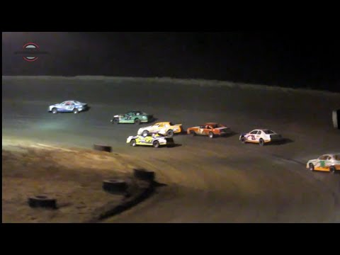 Desert Thunder Raceway IMCA Stock Car Main Event 9/29/18