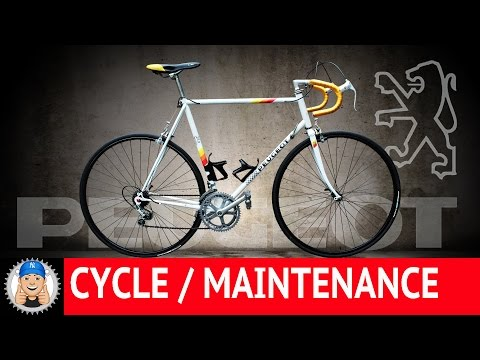 Vintage Peugeot Road Bike Restoration