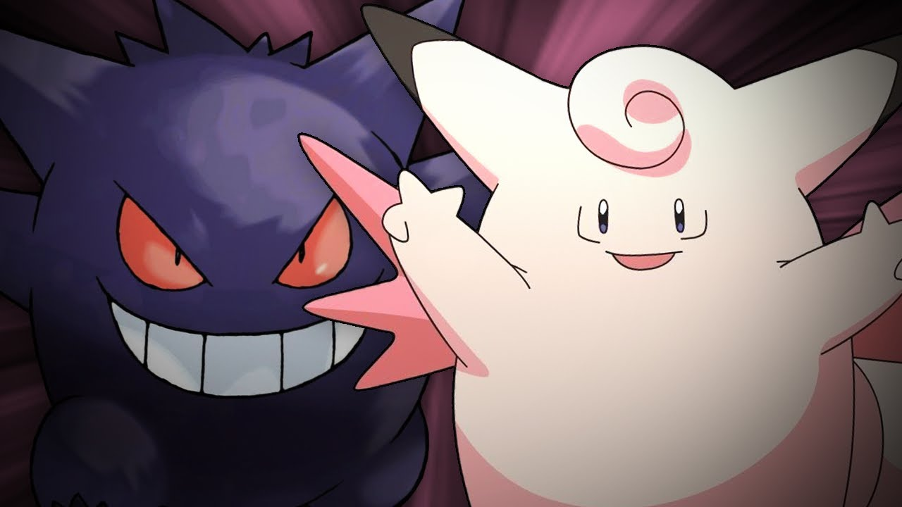 gengar and clefairy-#35