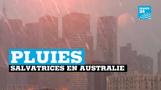 Incendies en Australie : des pluies salvatrices