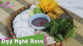 Món bún đậu mắm tôm Hà Nội thơm ngon
