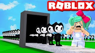 We created Bendy's factory in Roblox!