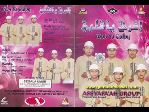 Full Album Sholawat Assyafa'ah Group Album IFROH YA GALBY (Musik Islami Indonesia)